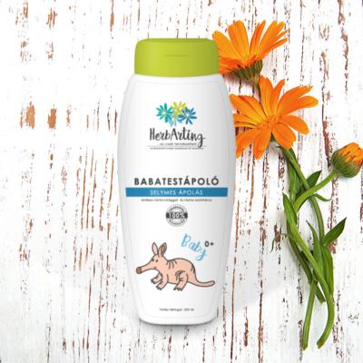 HerbArting körömvirágos babatestápoló 250 ml