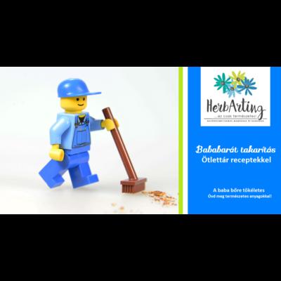 Bababarát Takarítás Ötlettár receptekkel