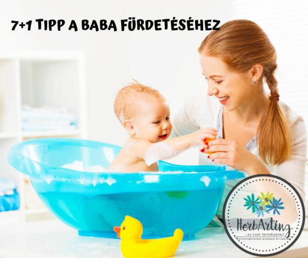 7+1 tipp a baba fürdetéséhez szakértői cikk HerbArting