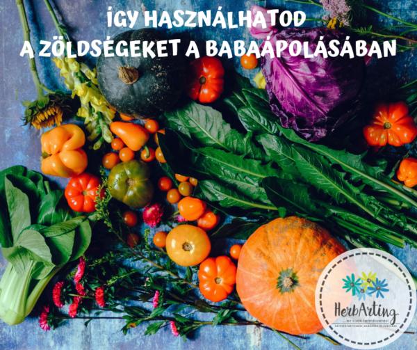 Így használhatod a zöldségeket a babaápolásban