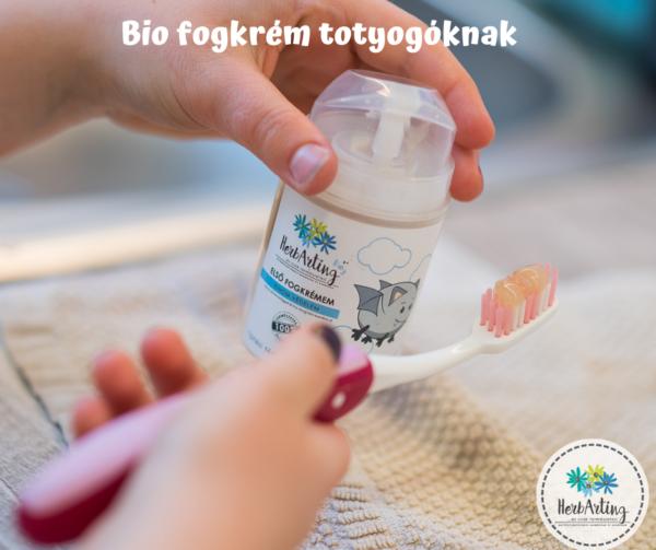 Bio fogkrém totyogóknak