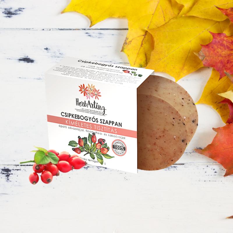 HerbArting csipkebogyós szappan 80 g