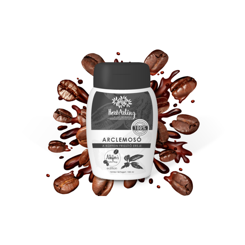 HerbArting kávés arclemosó 100 ml