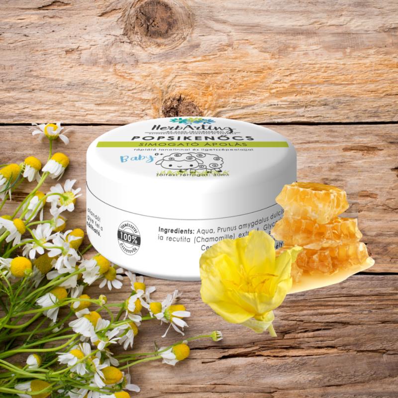 HerbArting lanolinos-ligetszépolajos popsikenőcs 30 ml
