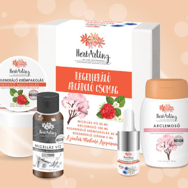 HerbArting Regeneráló arcápoló csomag