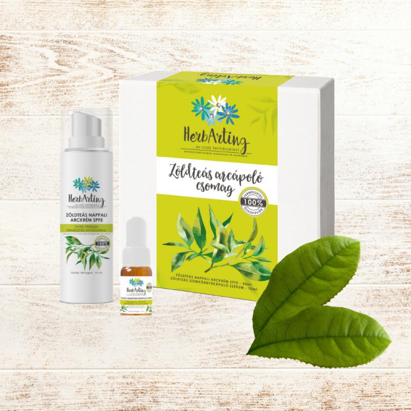 HerbArting zöldteás arcápoló csomag