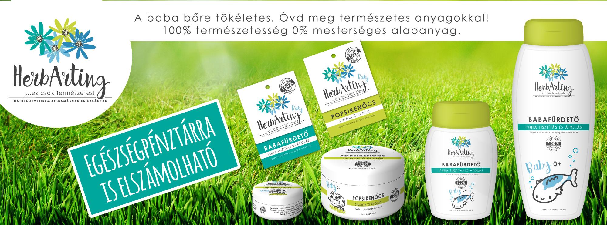 HerbArting Natúrkozmetikumok Egészségpénztár